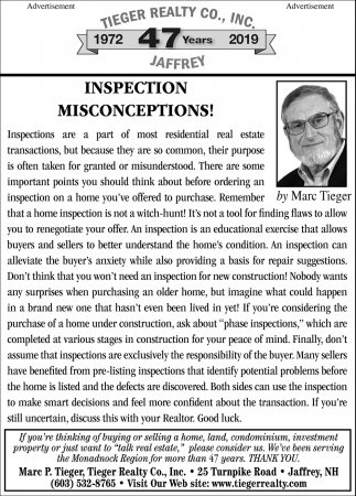 Inspection Misconceptions!