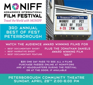 3rd Annual Best Of Fest Peterborough