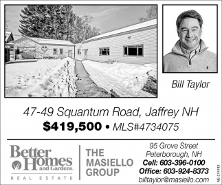Your Most Trusted Local Broker  Bill Taylor
