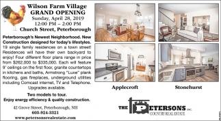 Wilson Farm Village Grand Opening!