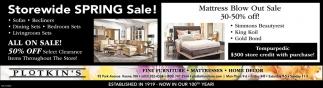Storewide Spring Sale!