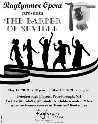 The Barber Of Seville , Baylynmor Opera