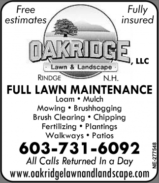 Full Lawn Maintenance