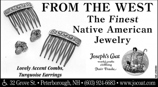 From The West The Finest Native American Jewelry