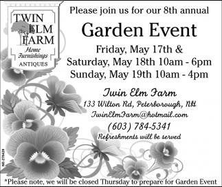 Garden Event