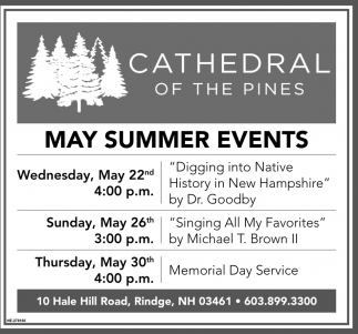 May Summer Events