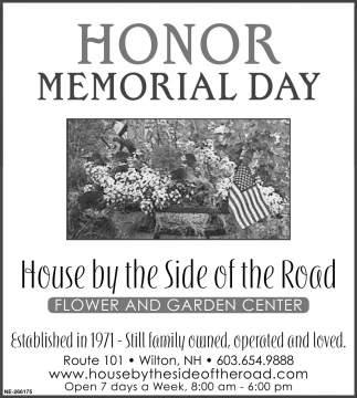 Honor Memorial Day