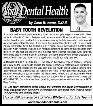 When Teeth Hint Of Disease