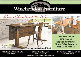 Memorial Day Home Office Sale!