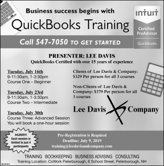 QuickBook Training