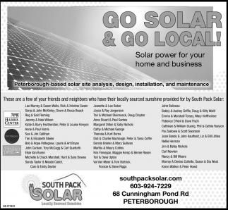 Go Solar & Go Local!