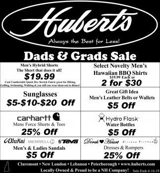 Dad & Grads Sale