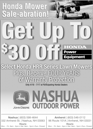 Get Up To $30 Off