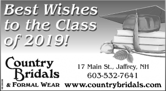 Best Wishes To The Class Of 2019!