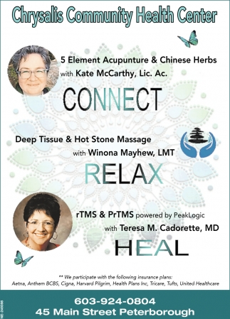 Connect Relax Heal