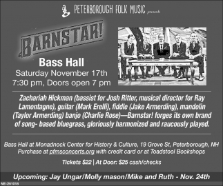 Barnstar! Bass Hall