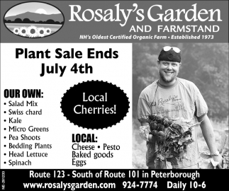 Plant Sale Ends July 4th