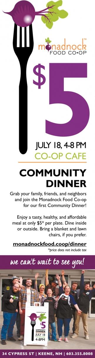 $5 Co-Op Cafe