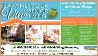 Expand Your View Of Senior Living