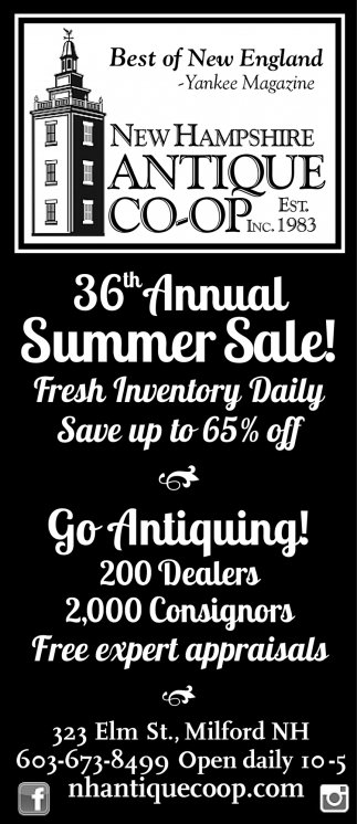 36th Annual Summer Sale!