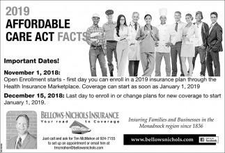 2019 Affordable Care Act Facts