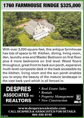 1760 Farmhouse