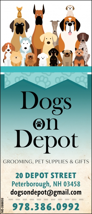 Grooming, Pet Supplies & Gifts , Dogs On Depot