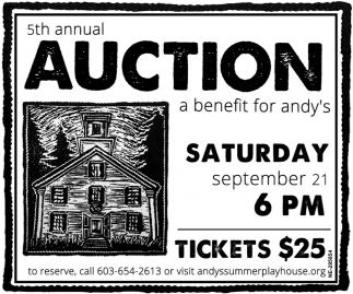 5th Annual Auction