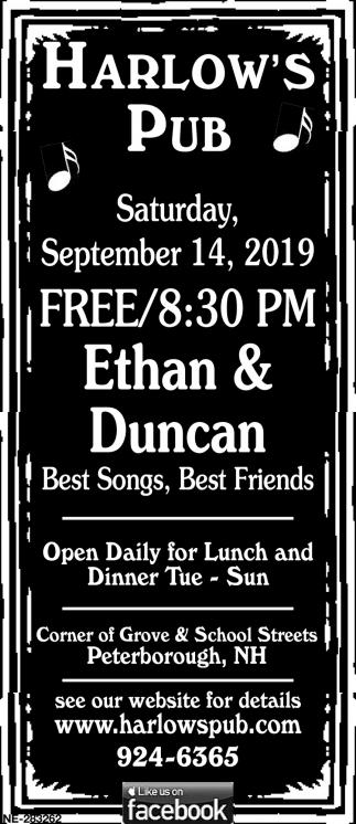 Ethan & Duncan