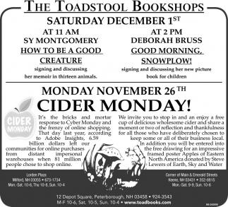 Cider Monday!