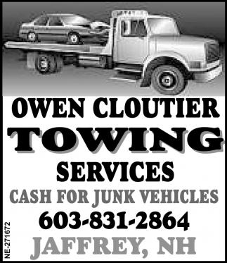 Cash For Junk Vehicles