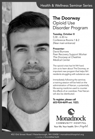 Opioid Use Disorder Program