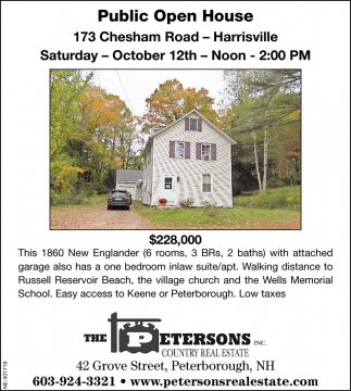 Public Open House 173 Chesham Road
