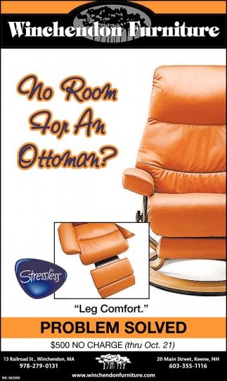 No Room For An Ottoman?