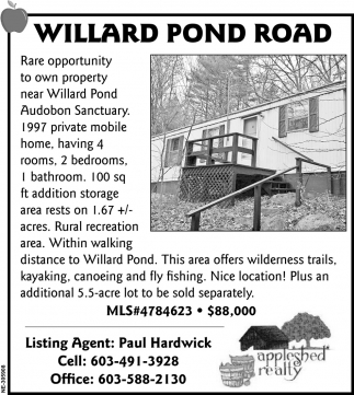 Willard Pond Road
