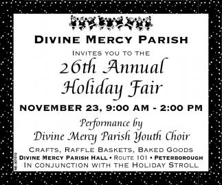 26th Annual Holiday Fair