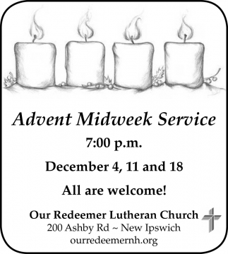 Advent Midweek Service
