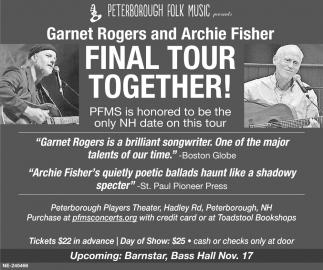 Final Tour Together!