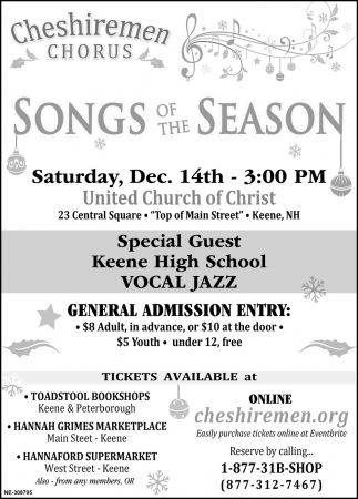 Songs Of The Season Show