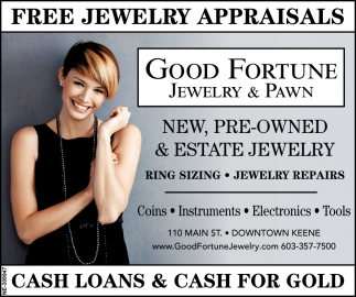 Free Jewelry Appraisals