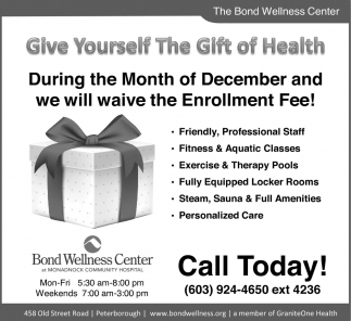 Give Yourself The Gift Of Health