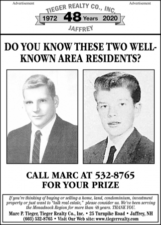 Do You Know These Two Well Known Area Residents?