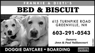 Bed & Biscuit