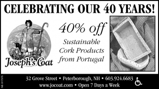 Celebrating Our 40 Years!