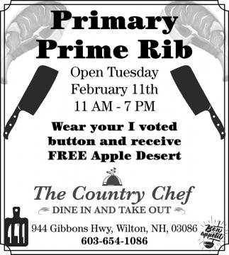 Primary Prime Rib