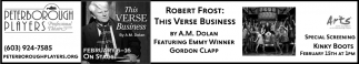 The Verse Business