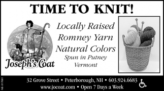 Time To Knit!