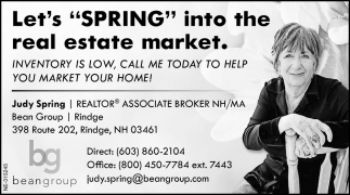 Let's Spring Into The Real Estate Market.