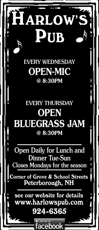 Every Wednesday Open Mic