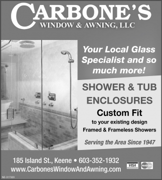 Your Local Glass Specialist And So Much More!